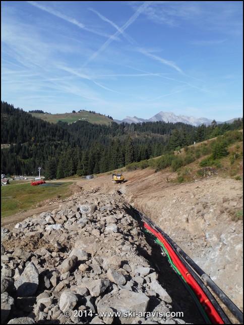 Les travaux par ann e sur le domaine skiable de manigod - Declaration de fin de travaux non faite ...